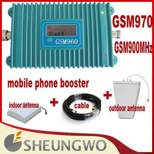 Прямой маркетинг Sunhans GSM960 + 900 мГц + 1500 + внутр, Внешняя антенна + кабель мобильный телефон ракета-носитель со всеми частями 1 компл.