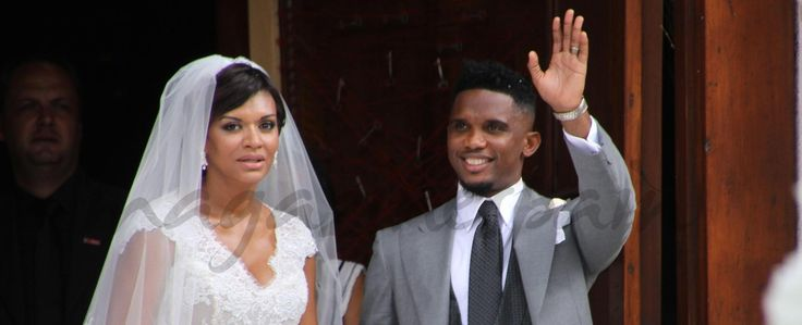 Samuel Eto'o boda en Italia