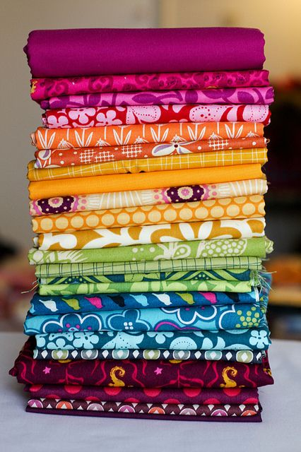 Looks like one of those Gypsy fabric stacks, love them. You can get em at Joann Fabrics for $20.