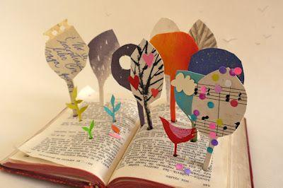 tierra de hojas: El libro, los libros