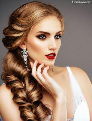 Clásico y sencillo peinados modernos Fotos de consejos de color de pelo - Peinado de novia moderno | Peinados de novia modernos ...