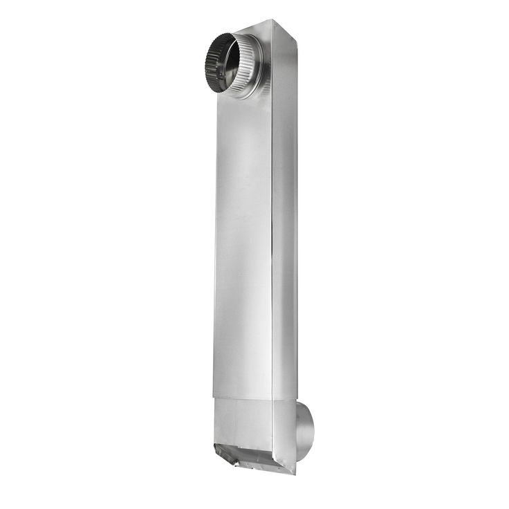 """Space Saving Aluminum Dryer Vent Duct is ideal for use in tight clothes dryer installations. The duct allows for the dryer to be placed 3"""" from the wall for optimum space utilization. The 2-piece aluminum construction allows for these ducts extend from 24"""" – 41"""" in length. Tight space dryer venting solution Extends from [...]Read More..."""