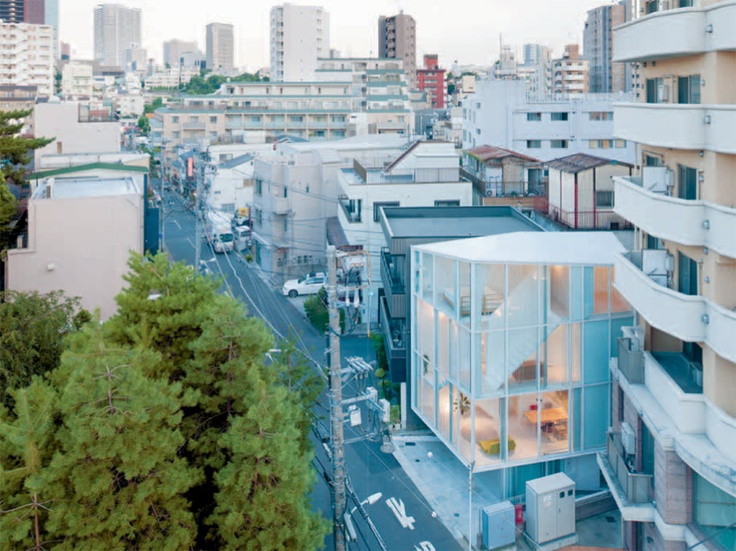 Japanse architectuur van binnenuit