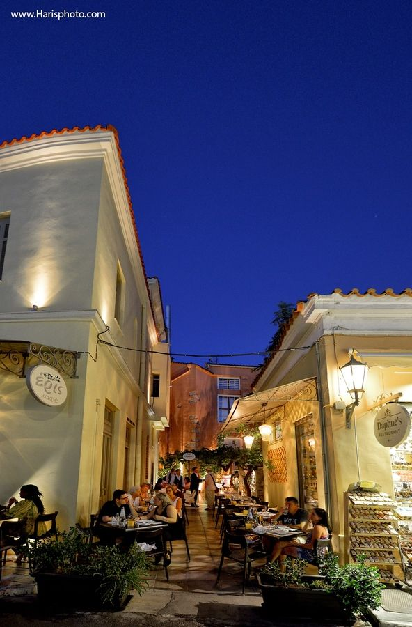 Athens by night..