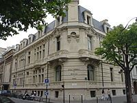 """The École Normale de Musique de Paris """"Alfred Cortot"""" (French for """"National School of Music of Paris"""", also known as École Nationale de Musique de Paris and École Normale Supérieure de Musique de Paris; ENMP) is a leading conservatoire located in Paris, France. The school, located in the 17th arrondissement of Paris, was founded by Auguste Mangeot and pianist Alfred Cortot in 1919"""