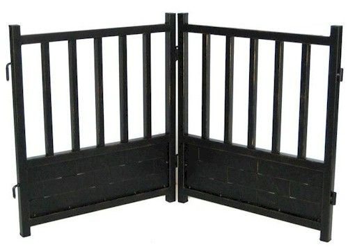 PetStop Royal Weave Freestanding Dog Gate - Free Shipping