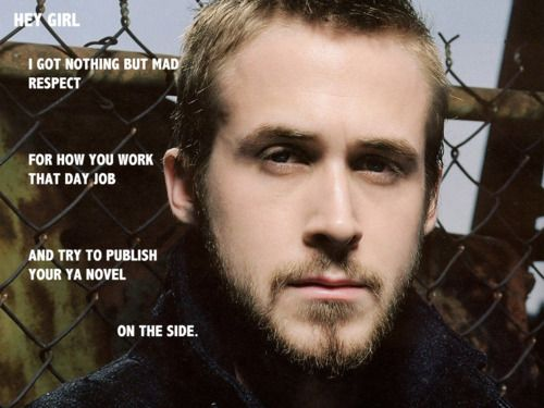 Ryan Gosling Reads YA... bahaha, love it