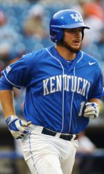 UK Baseball junior A.J. Reed named SEC Player of the Year. Reed leads college baseball in homers, slugging and OPS, and leads the SEC in wins, RBI, on-base percentage, walks and total bases.