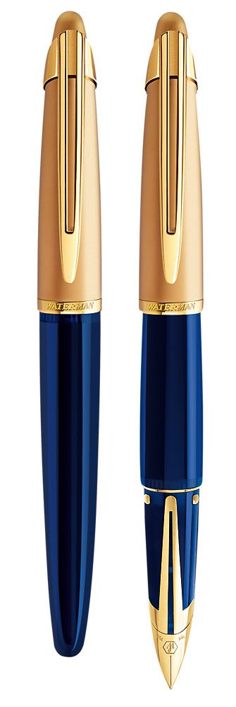 The Waterman Edson Fountain Pen is considered by many to be the pinnacle of pen design.