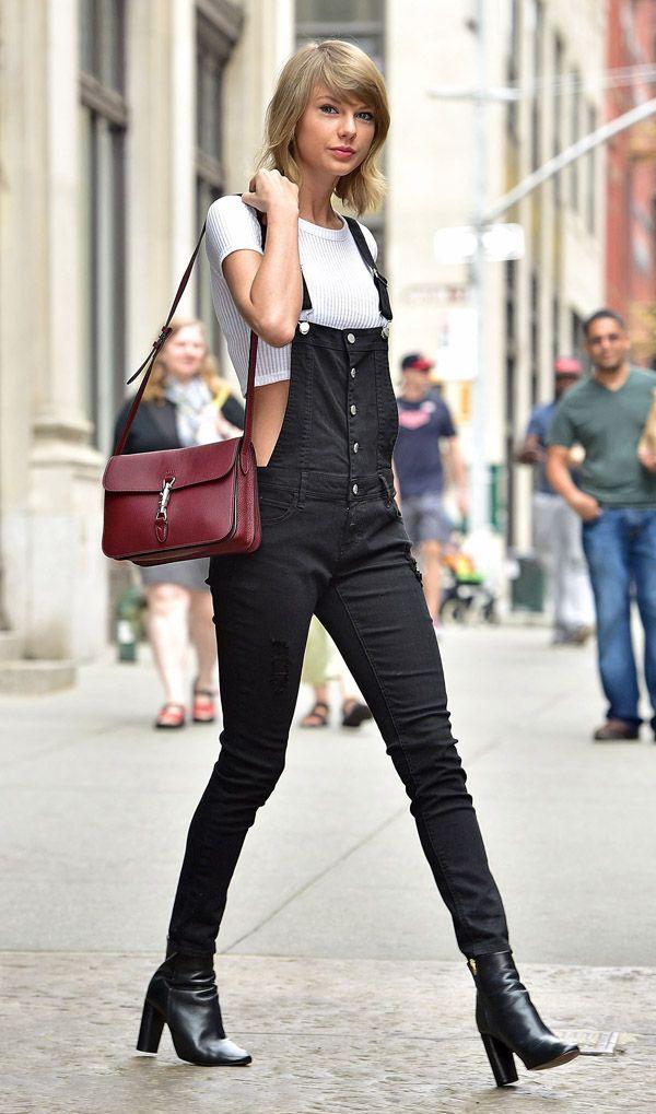 Taylor Swift Street Style Macacão