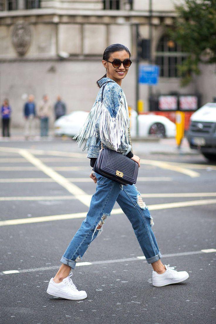 London Fashion Week Street Style Spring 2015 - London Street Style - Harper's…