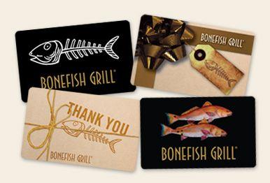 Bonefish Grill Restaurant Gift Cards