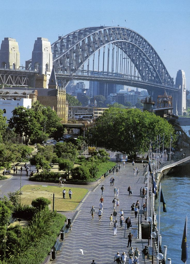 SYDNEY HARBOUR BRIDGE | SYDNEY | NEW SOUTH WALES | AUSTRALIA: *Opened: 19 March 1932; Through Arch Bridge, crossing Port Jackson (Sydney Harbour), connecting Sydney CBD and the North Shore; Road and rail bridge*
