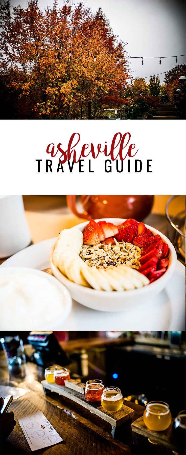 36 Hours in Asheville -- the best restaurants, breweries and sightseeing in town!