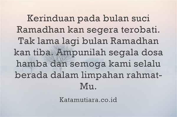 Kata Mutiara Islami Tentang Ramadhan Mutiara Kata Kata Mutiara