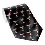Mens Halloween Necktie Bloody Martini Novelty Tie #halloween #happyhalloween #halloweenparty #halloweenmakeup #halloweencostume