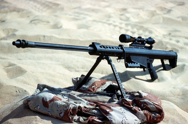 M82A1 used by the 60th Ordnance Detachment during Operation Desert Shield.