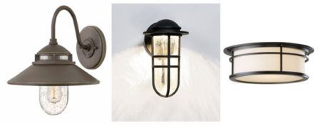 Favorite Fixture Friday - Nautical - https://www.lucialighting.com/lighting-trends/favorite-fixture-friday-nautical - Our favorite Nautical Exterior Fixtures:  Looking for an update for your nautical look?  Oh….and ssshhhh…we've seen these used inside too!