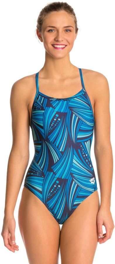 Arena Haribo Light Drop Back One Piece Swimsuit 8121618