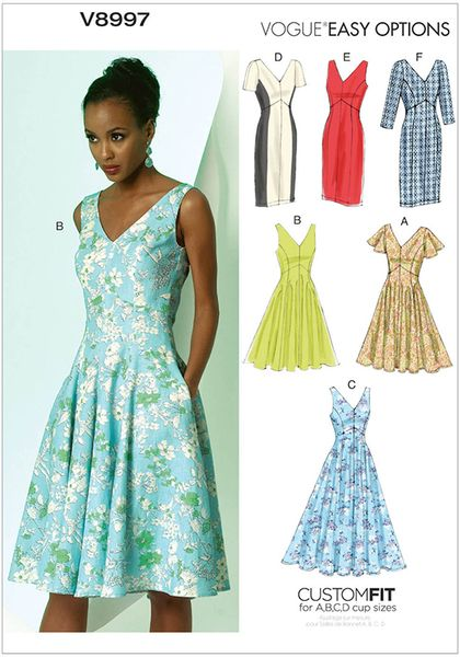 8997V Vogue Dress Pattern