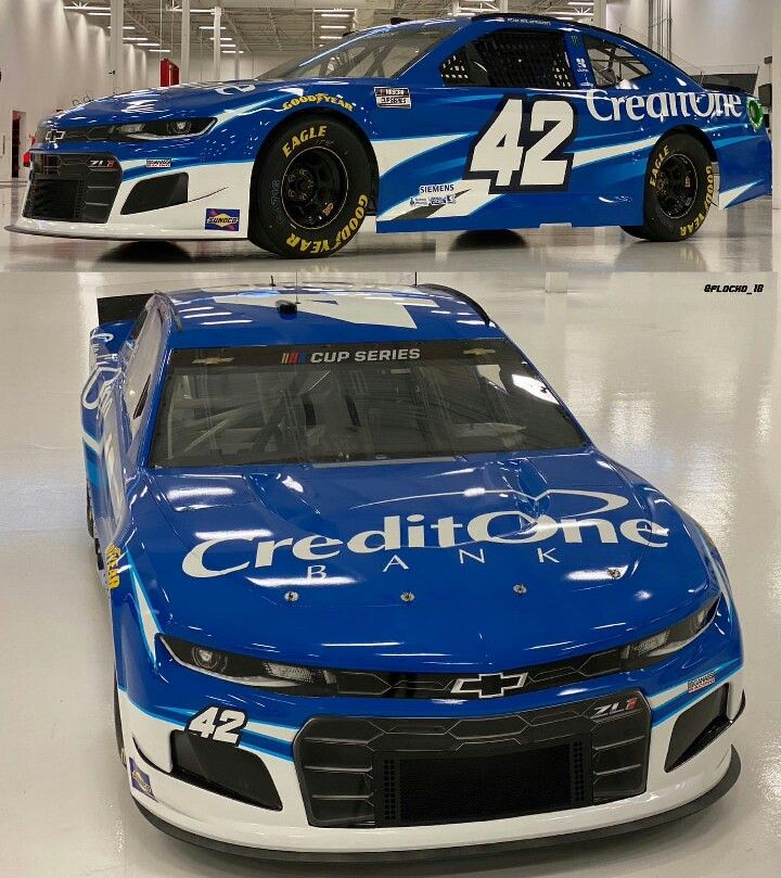 New Gloss Finish New Camaro Zl1 1le New 2020 Nascar Cup Series Branding Creditonebank Teamchevy Nascar Toy Car Kyle Larson