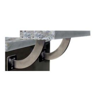 creating a floating countertop or breakfast bar is effortless with federal braceu0027s san marino floating countertop