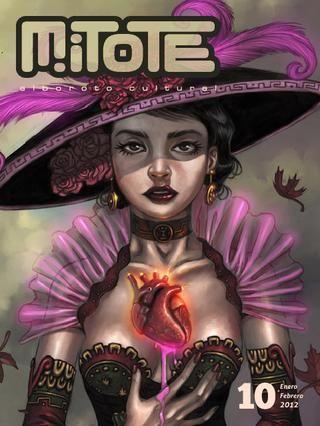 Mitote es una revista de cultura visual mexicana que se puede ver gratis en ISSU