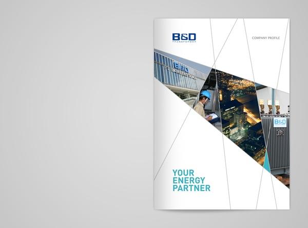 B Transformer Company Profile by Arief Bahari, via Behance