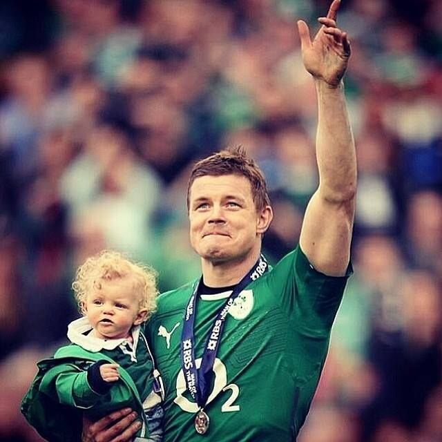 6 Nations Champion 2014 {The legend that is Brian O'Driscoll - Irish Rugby}
