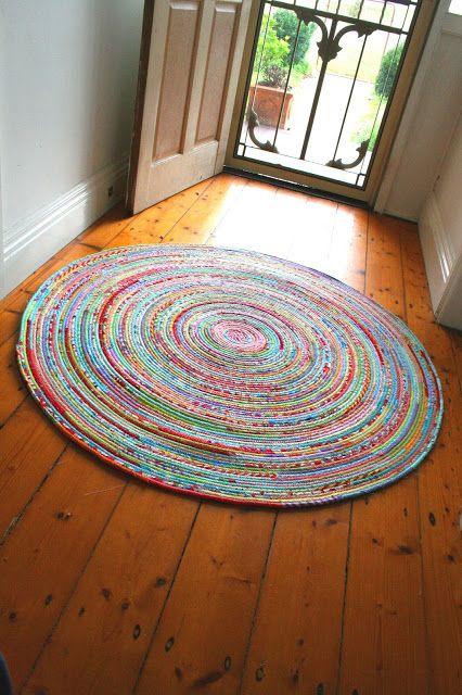 cómo coser una manta de tela