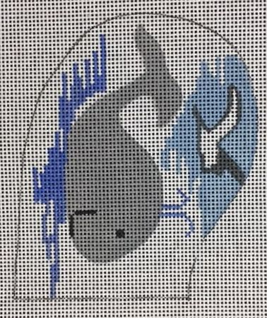 New England Bear - The Wellesley Needlepoint Collection, Inc