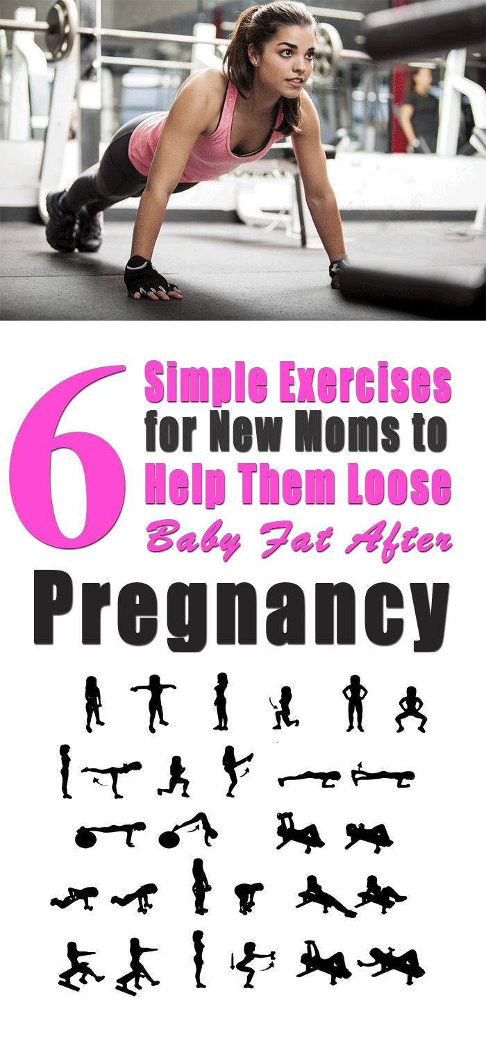 6 simple exercises for new moms to help them loose baby weight after pregnancy http://mommyweight.com/6-simple-exercises-for-new-moms-to-help-them-loose-baby-fat-after-pregnancy/