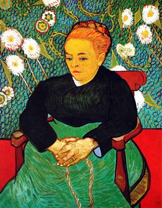 Vincent Van Gogh - Post Impressionism - Arles - La Berceuse - 1889