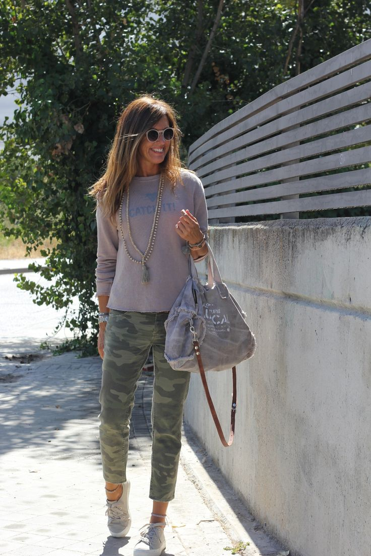 Green#grey#casual#outfit