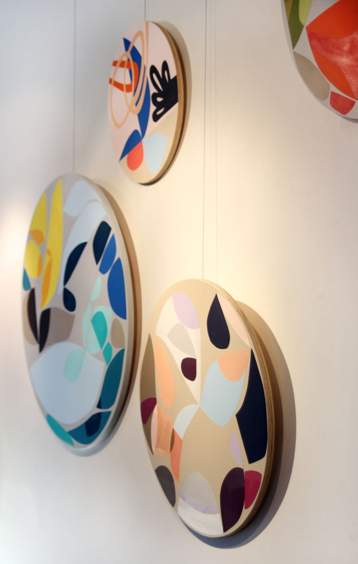 Annie Smits Sandano original acrylic painting installation www.anniesmitssandano.com