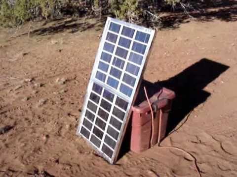 Build a 60 Watt Solar Panel - instructions