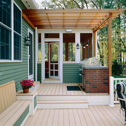Multi Level Deck Design Ideas, Pictures, Remodel, and Decor - page 5