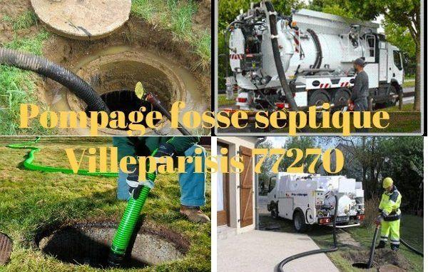 Pompage fosse septique Villeparisis 77270