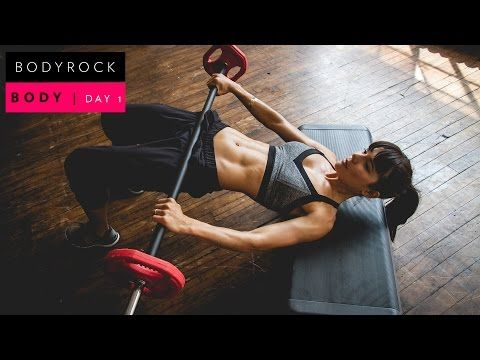 BODYROCK BODY | WEEK 1 DAY 3 | SHOULDERS & ARMS | health and Beauty 4Ever