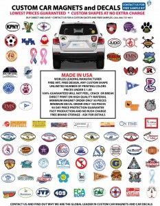 Best Images About Car Magnets On Pinterest Cars Magnetic - Custom car magnets oval   promote your brand