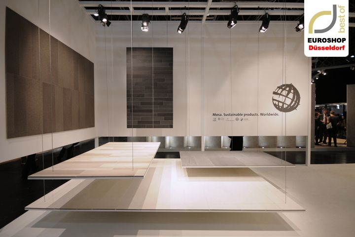 Euroshop Düsseldorf 2014 – Mosa » Retail Design Blog