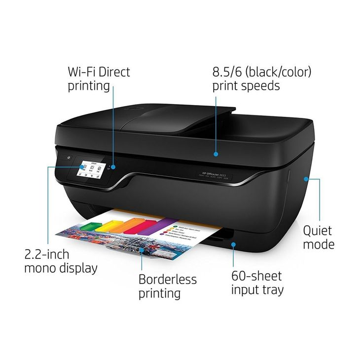 HP OfficeJet All-in-One Printer Scanner Copier Fax Touchscreen Wireless Printing | Computers/Tablets & Networking, Printers, Scanners & Supplies, Printers | eBay!