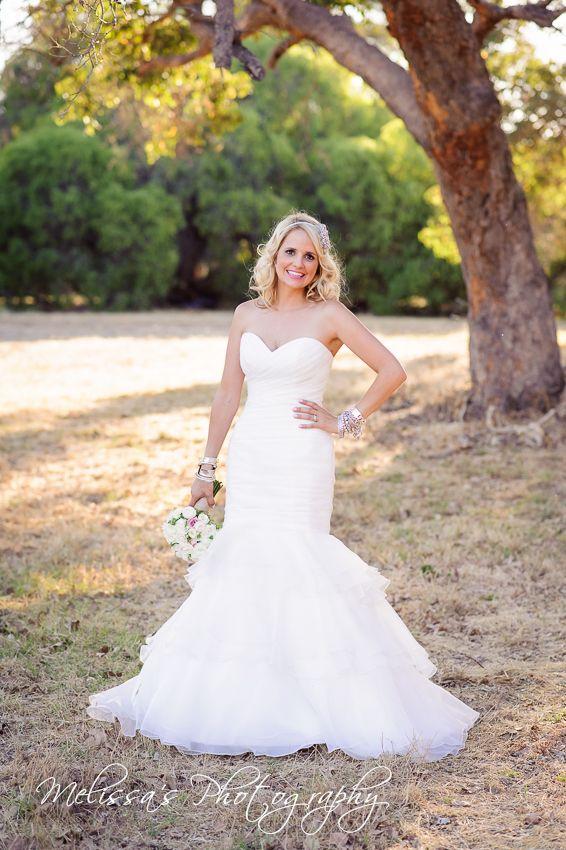 Skye's beautiful dress in Yallingup, Western Australia