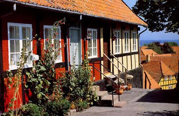 Bindingsværkshuse, Bornholm