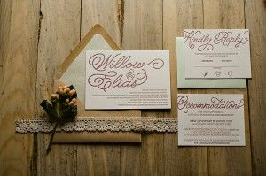 WILLOW with lace and pastels! Perfect for your 2014 rustic wedding!