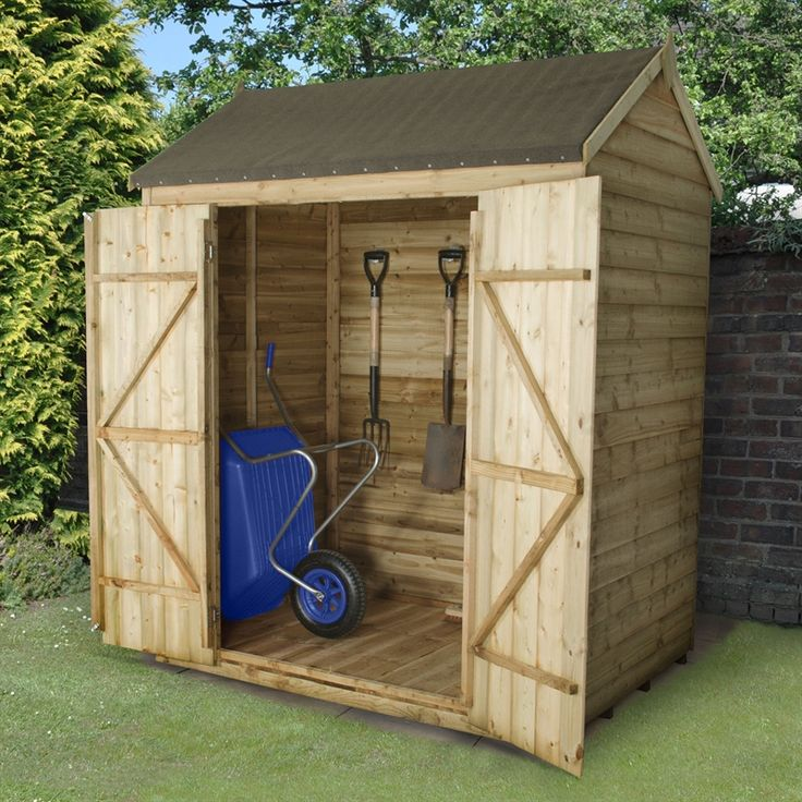580 best images about garden on pinterest wooden sheds for Garden shed 6x4
