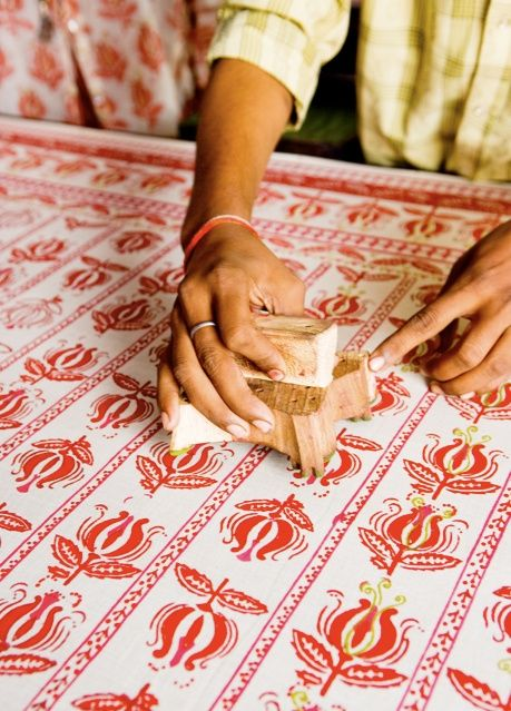 how to make block printing paste