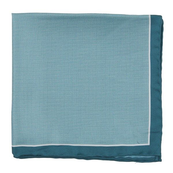 Watertown Point pocket square - Green Teal | Ties, Bow Ties, and Pocket Squares | The Tie Bar