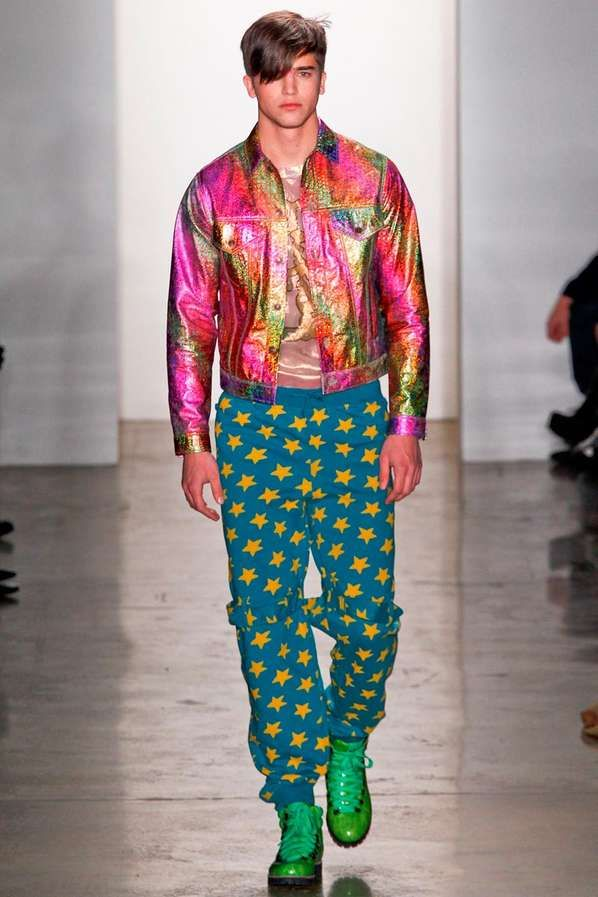 The Jeremy Scott Fall/Winter 2012 Line Will Take You Back to the '90s #fashion trendhunter.com
