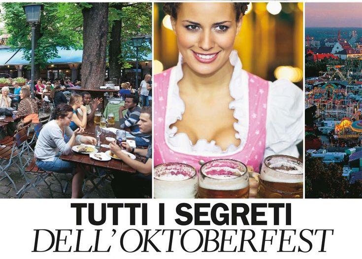 La nostra #guida dell' #Oktoberfest pubblicata su Donna Moderna! Vietato non averla. Ordina subito la tua copia, e scopri tutti i segreti e i retroscena della #Festa della #Birra di #Monaco.